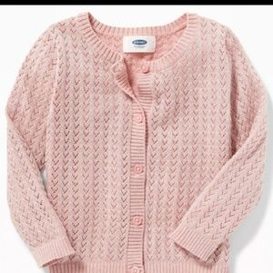 Toddler sparkle sweater